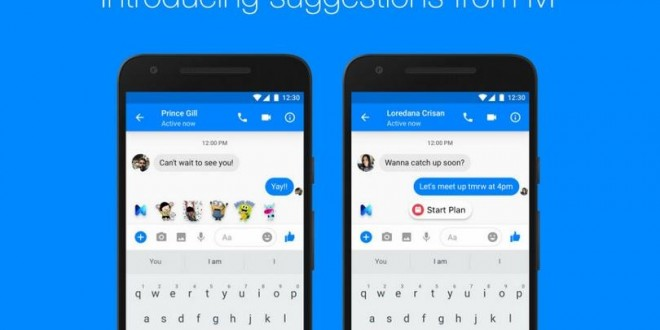 Facebook's Virtual Assistant M Invades Messenger